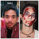 My work at Zombie Walk Caracas