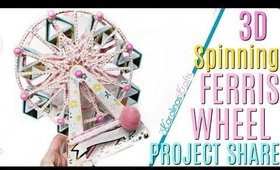 3D Ferris Wheel Project Share, Carnival Project Share