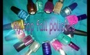 My Favorite Fall Polishes