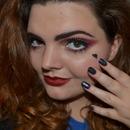 Marina and the Diamonds Inspired Makeup