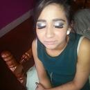smokey makeup!