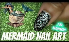 HOW TO: MERMAID NAIL ART FOR BEGINNERS
