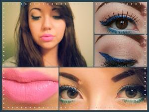 I basically copied Makeupbynaya on youtube. minus a few minor changes. :))