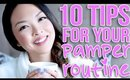 10 Tips For Your At Home Pamper Routine!