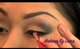 Mila Kunis Smokey Eye
