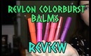 NEW Revlon Matte & Lacquer Balms | Swatches & REVIEW