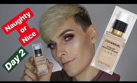 Covergirl Vitalist Healthy Elixir Foundation Review | Naughty or Nice Day 2 | WILL DOUGHTY