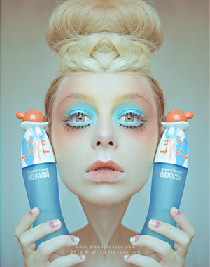moschino inspired look photography & make-up: diana ionescu