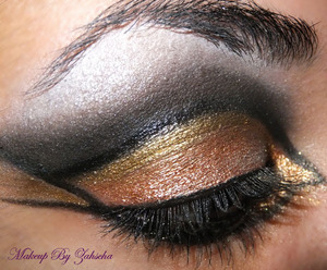 Inspired a QOB Look =) Just couldn't do the red brows =)