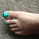 Just treated myself with pedi... :)