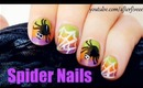 Halloween Spider Nails