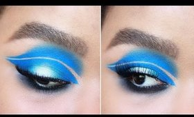 Negative Space Crease Makeup Tutorial | Naturally Erratic