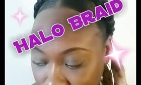 How to | Halo Braid w/ Jumbo Braiding Hair