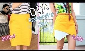 DIY: Asymmetrical Skirt {Zara Inspired}