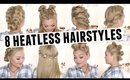 8 Heatless Hairstyles