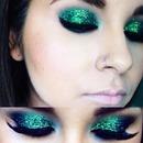 Green glitter💚