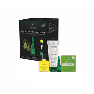 Complete Thinning Hair Solution 4-Step Kit - For Sudden, Temporary Thinning Hair