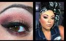 Copper & Plum Smokey Eye: MAC & ELF