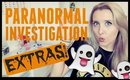 GHOST BOY SIGHTINGS | PARANORMAL INVESTIGATION EXTRAS