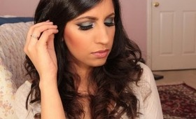 Makeup Tutorial: Soft Peacock Eyes