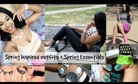 Spring Inspired Outfits + Spring Essentials with Wantable