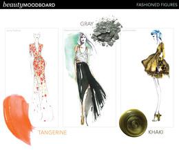 Beauty Mood Board: Designer Illustrations