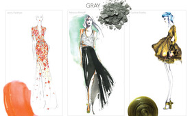 Beauty Mood Board: Designer Illustrations