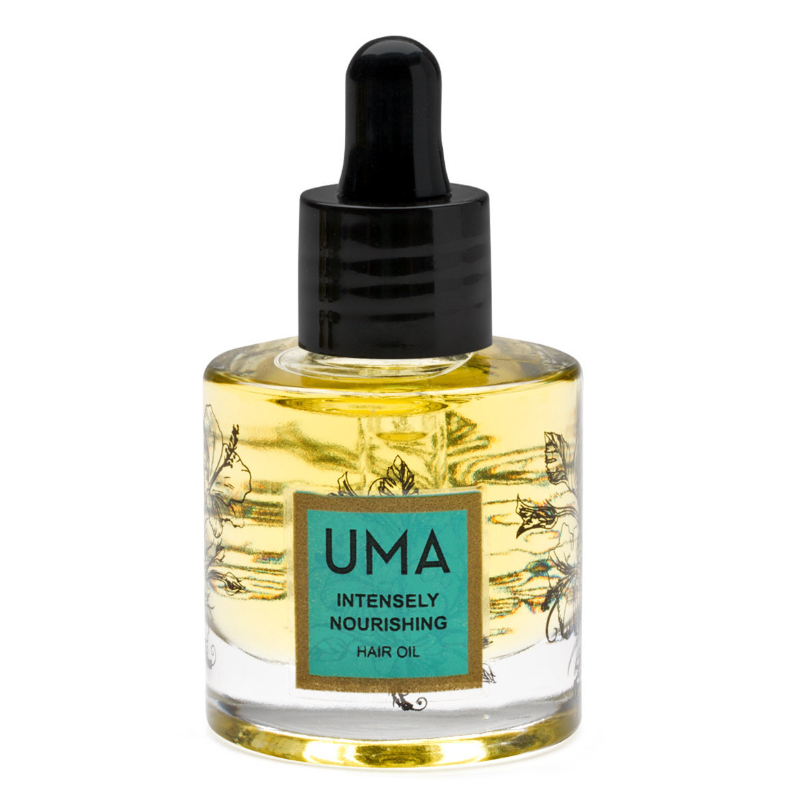 Uma Intensely Nourishing Hair Oil product smear.