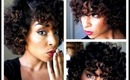 How To: Get Soft Curls with Minimal Heat!! The Bantu-Knot out