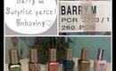 Barry M Surprise Parcel Unboxing