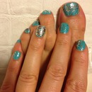 Turquoise w/ silver