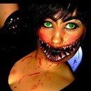 Halloween look milenna from mortal kombat look
