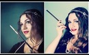 1920's Great Gatsby Makeup & Hair Tutorial: The Modern Flapper!