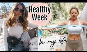 HEALTHY WEEK IN MY LIFE// WEDDING PREP