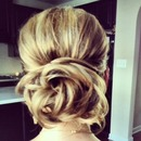 Boho Bun...by Calista Brides Hair & Makeup Artistry