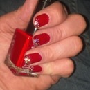 sassy stiletto red Mani