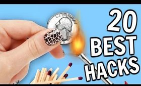 The 20 BEST Life HACKS of ALL Time!