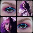 Dollhouse Inspired Makeup Look.