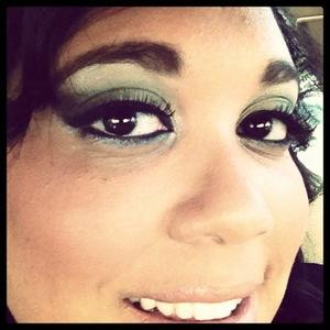 My smoky Green look