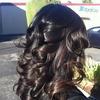 Carmel Highlight and Soft Curls
