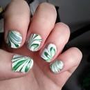 St-Patrick's day manicure!