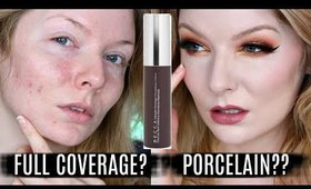 BECCA Ultimate Coverage Foundation | Review & DEMO (Wear Test)