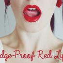 Budge-Proof Lipstick!