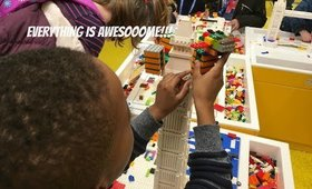 Lego Store Leicester Square London | A Very Messy Vlog