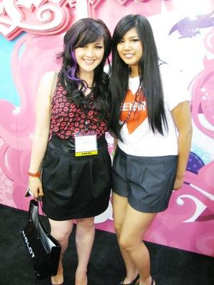 @ IMATS 2011, she's so sweet!