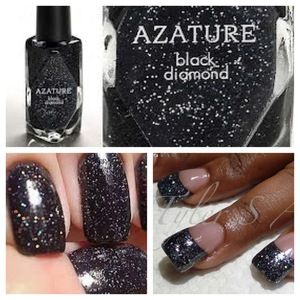 Azature's Black Diamond Nail Polish has been dubbed the World's Most Expensive Nail Polish!!! 
