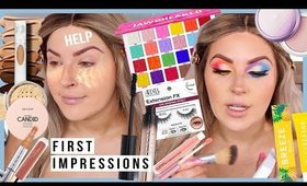 an *average* makeup day 😪 FULL FACE FIRST IMPRESSIONS ft jawbreaker palette