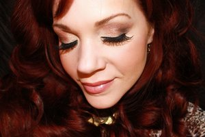 I created this look using Milani Bella Eyes Shadows.  To see the full post with products listed, please visit:  http://www.vanityandvodka.com/2015/05/my-favorite-go-to-glam.html  xoxo!