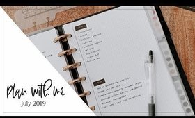 Plan with Me | July 2019