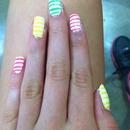 Candy-ish nails?